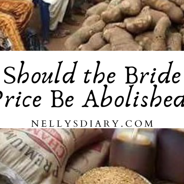 should paying the bride price be abolished